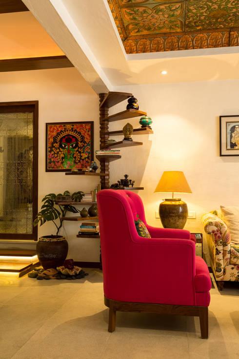 Salas de estilo asiático por The Orange Lane