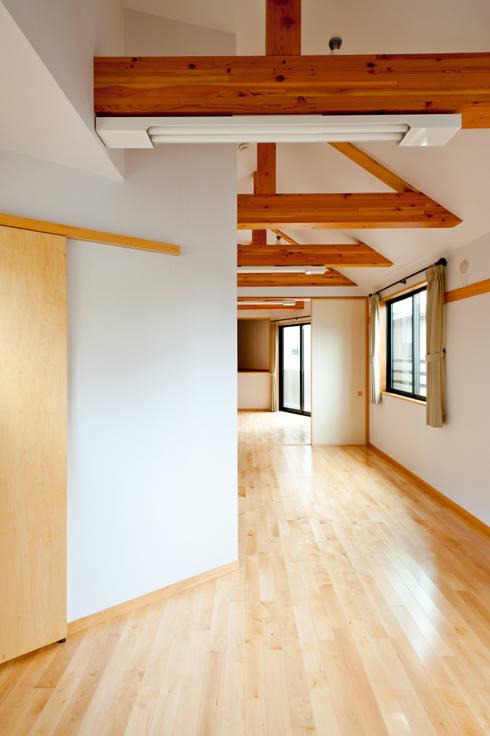 2階居室: アルキテク設計室が手掛けた寝室です。