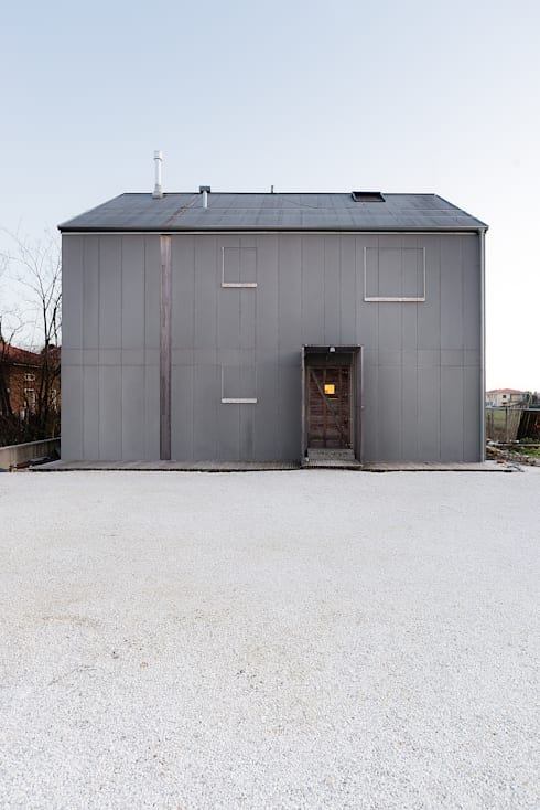 Huizen door paolo carlesso architetto