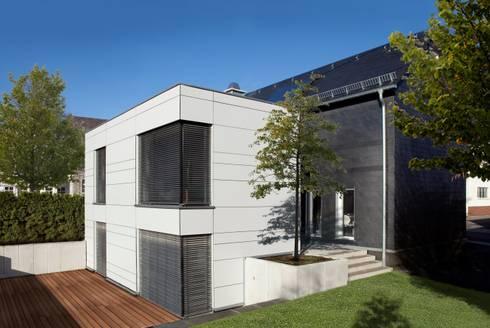 Anbau sanierung fachwerkhaus von fachwerk4 architekten for Anbau haus modern