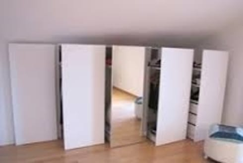 armadi intelligenti in mansarda di studio design d'interni ...