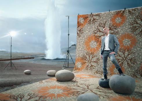 Muurbloem Design Studio Floorfashion; Kamiks:  Muren & vloeren door Muurbloem Design Studio