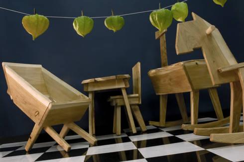 Kids' Furniture series: moderne Kinderkamer door Bo Reudler Studio