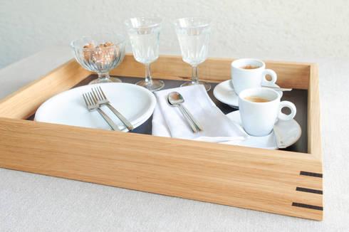 holztablett eiche by klaus maier schreinerei homify. Black Bedroom Furniture Sets. Home Design Ideas