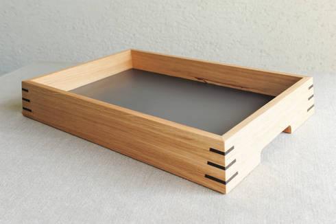 holztablett eiche von klaus maier schreinerei homify. Black Bedroom Furniture Sets. Home Design Ideas