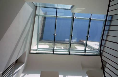 Casa Apice Bellini: Finestre in stile  di raffaele iandolo architetto