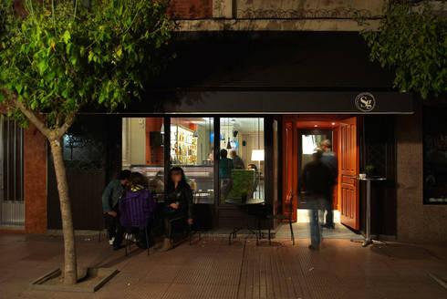Vista de fachada: Locales gastronómicos de estilo  de interior03