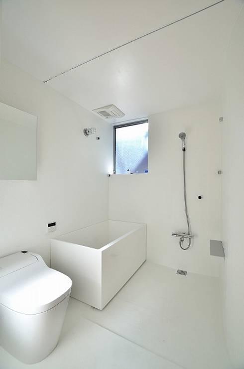 Niji Architects/原田将史+谷口真依子의  욕실