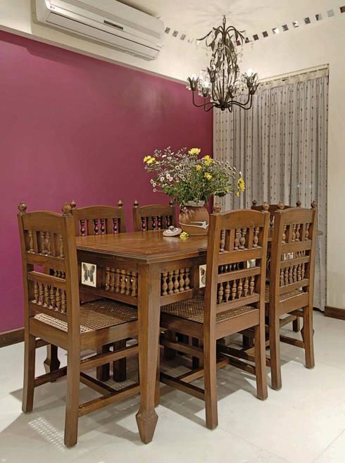 Dining room by The Orange Lane