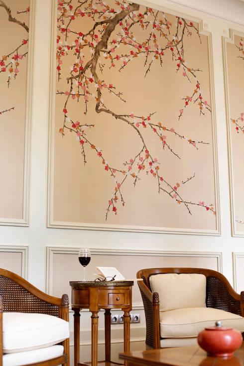 Sadirac, Frankreich:  Wohnzimmer von Oficina Inglesa