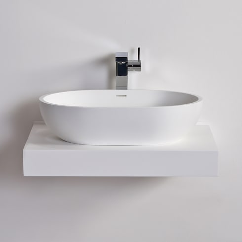lusso solid limestone resin basins by lusso