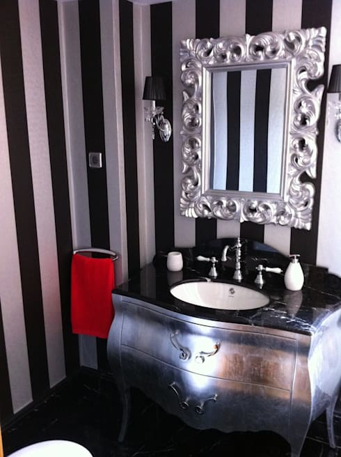 Para gustos....: Baños de estilo ecléctico de Decorando tu espacio