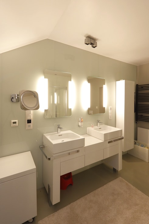 Dom Widzewska: styl , w kategorii Łazienka zaprojektowany przez REFORM Konrad Grodziński