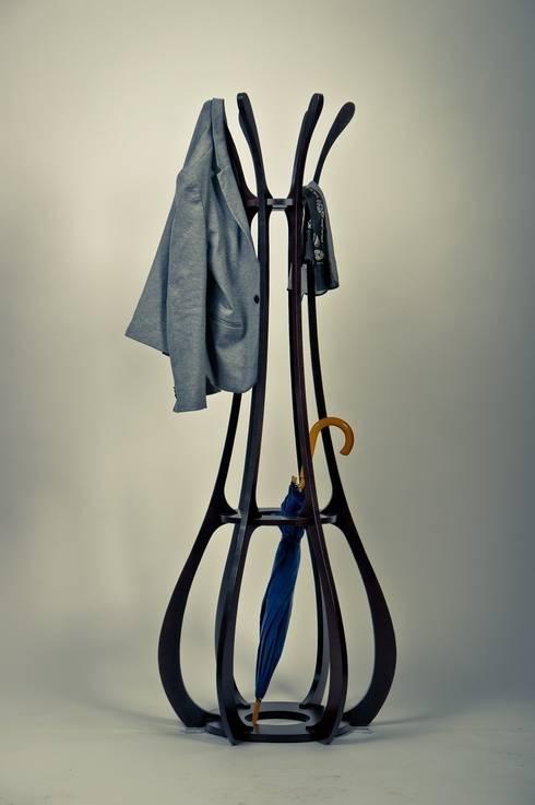 Vestidores de estilo minimalista de Marcin Skubisz Group