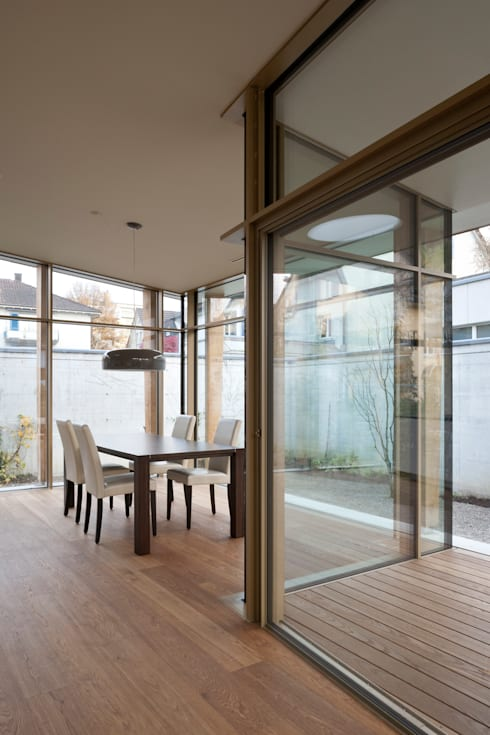 Haus S Winterthur:  Esszimmer von Coon Architektur