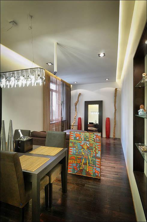 Квартира Мити Фомина: Столовые комнаты в . Автор – Студия дизайна  интерьера Лелы Кавтарадзе
