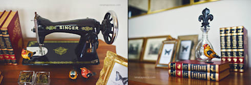 Detalhes: Escritório e loja  por Rafaela Dal'Maso Arquitetura