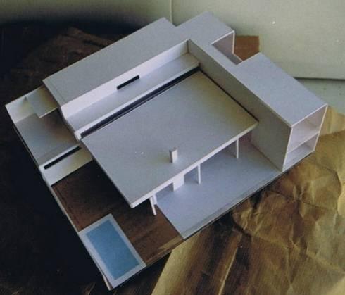 Casa minimalista bioclim tica de ap arquitecto homify for Casa minimalista maqueta
