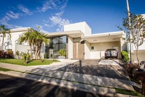 Projeto HP 03: Casas modernas por HAUS