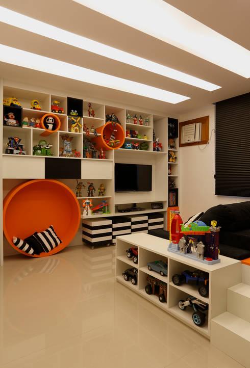 Chambre d'enfant de style de style Moderne par Amanda Miranda Arquitetura