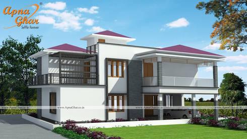 duplex house design - Modern Duplex House Designs