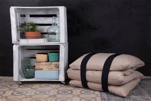 MORERA estantería cajas de fruta. 2 Cajas: Hogar de estilo  de ECOdECO Mobiliario