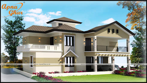 Awesome Duplex House Design