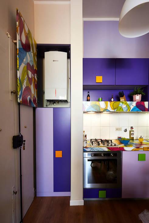 Projekty,  Kuchnia zaprojektowane przez Diciassette Tredici
