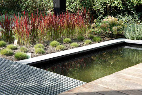 Uitbreiding Woning en ontwerp buitenruimte: moderne Tuin door RAW architectuurstudio