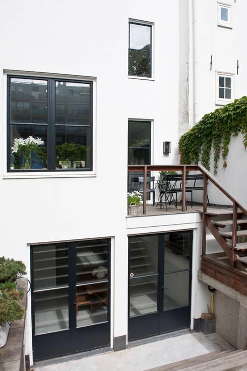 Vernieuwbouw grachtenpand: klasieke Huizen door Kodde Architecten bna