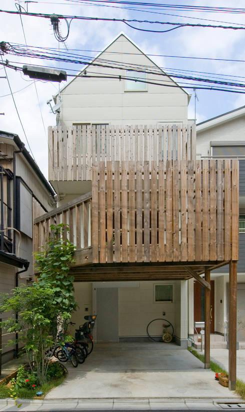 外観1: 山本陽一建築設計事務所が手掛けた家です。