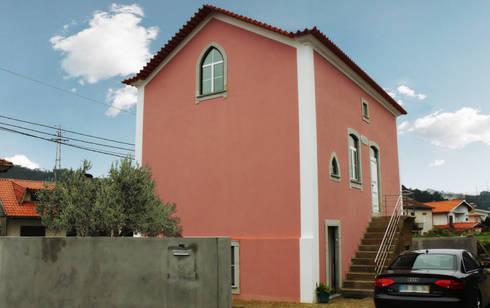 Moradia Castro: Casas clássicas por EVA   evolutionary architecture