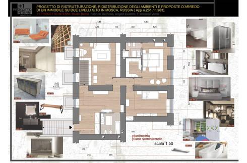 1 progetto interni di 1 progetto interni homify for Progetti architettura interni