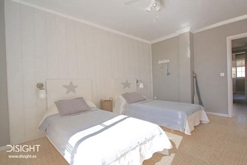 DORM 2: Dormitorios de estilo mediterráneo de DISIGHT