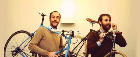 Bedenkers Patrick Jacquet en Rob De Schutter: moderne Gang, hal & trappenhuis door Deltareference