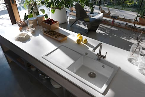 attraktive keramiksp len de franke gmbh homify. Black Bedroom Furniture Sets. Home Design Ideas