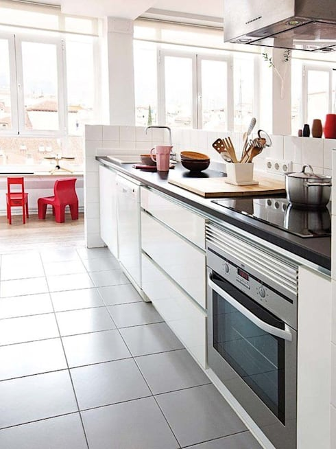 مطبخ تنفيذ nimú equipo de diseño