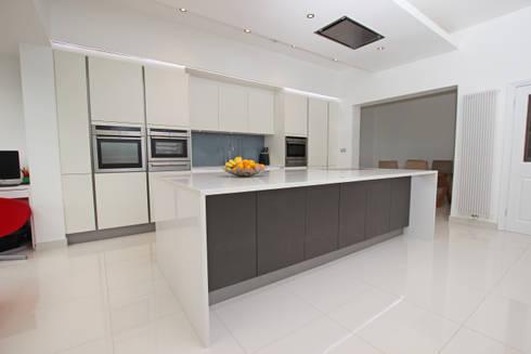 Matt Kitchens By LWK Kitchens Homify - Dark grey matt kitchen