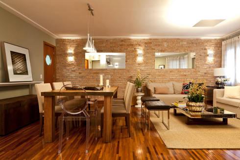 Sala de Jantar e Estar:   por Lembi Arquitetura