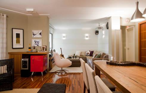 Sala de Jantar 02:   por Lembi Arquitetura