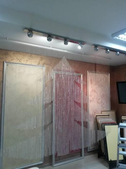 первые шторы из хрусталя: Окна и двери в . Автор – Абрикос