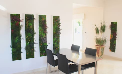 Décoration cuisine design vegetal por 3dvegetal | homify on