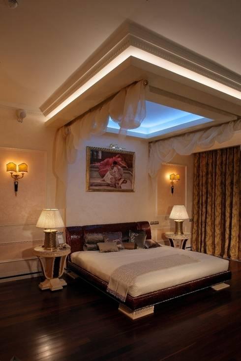 Пурпурное  настроение: Спальни в . Автор – Studio B&L