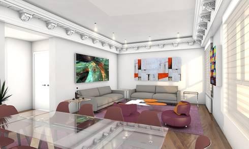 Diseño Interior Piso en Madrid de CADOT | homify