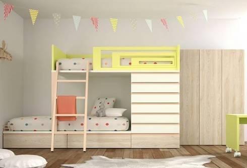 Litera Verona: Habitaciones infantiles de estilo  de Yupih