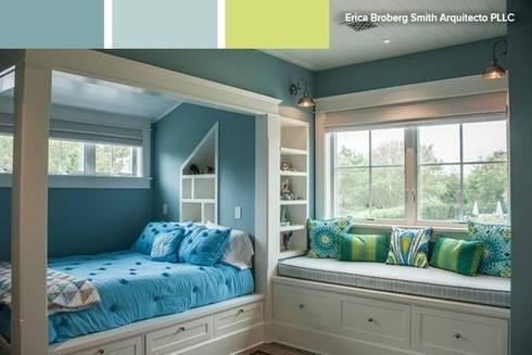 7 espacios relajantes: cómo utilizar el color para crear calma en ...
