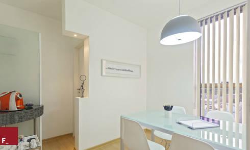 Escritório Aguiar, Moreira & Passos: Escritórios  por Fadel Arquitetura