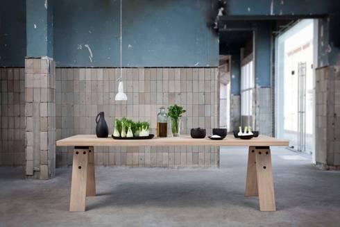 Branch eettafel in gebruik: scandinavische Eetkamer door Marc Th. van der Voorn