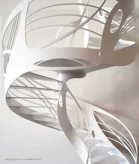 Corredor, hall e escadas  por La Stylique