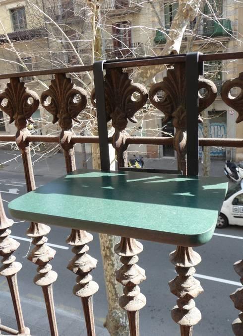 Varanda, alpendre e terraço  por Quentin Mevel